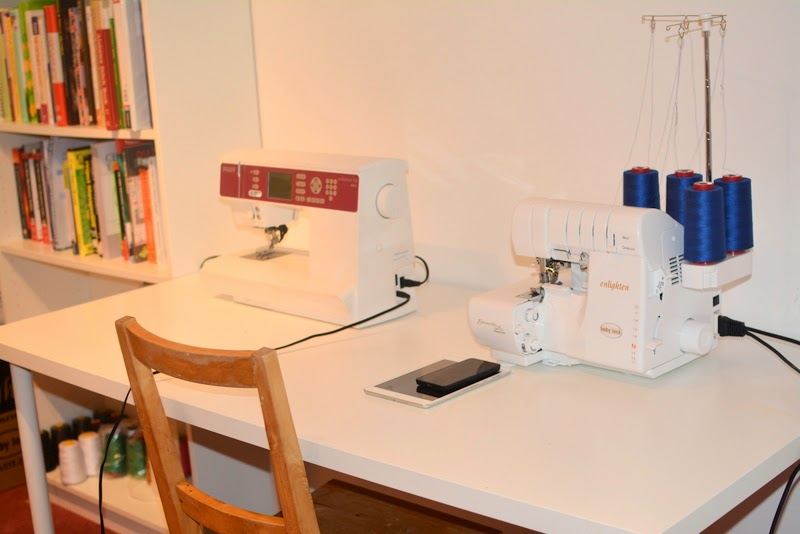 Work in Progress: Sewing Room